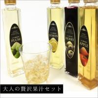※こちらの商品はノンアルコール飲料です。  大人の贅沢果汁セット 200ml×4本  第11回グルメ...