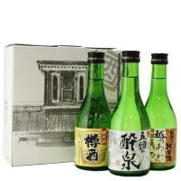<商品詳細> 蔵元自慢の個性ある純米酒300ml×3本を 初回お試し価格にてご提供! 毎月10セット...