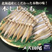 北海道産の、本ししゃもを食べるとししゃものイメージが全く変わります! 美しく黄金色に輝く柳葉魚(しし...