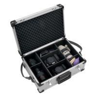 ハクバ カメラケース 純国産 収納部分が豊富な、角のないアルミケース ZX-25A  ZX-25A 4977187213270 HAKUBA