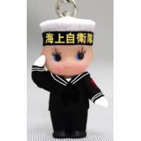 キューピーストラップ 海上自衛隊 セーラー敬礼(冬)ストラップ