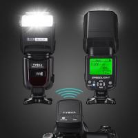 フラッシュ・ストロボ スピードライト 2.4Gワイヤレストリガーリモート LCDディスプレイ 標準的なホットシュー付 DSLRカメラ対応 TK205 TYCKA