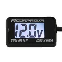 【適合】汎用 【商品説明】イグニッションキーに連動して電源のON/OFFが可能なデジタル電圧計で、バ...