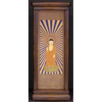 真宗大谷派用(東本願寺)のご本尊です。(小サイズ)  ●家具調のお仏壇に良く合います。 写真は(大サ...