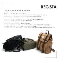 REGiSTA(レジスタ) ミリタリー バッグパック [3カラー]541