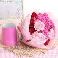 ●3色のカーネーションが華やかなカーネーション花束です。  ●北海道・九州・沖縄へのお届けは追加料金...