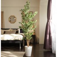 「フィッカスグリーン 150cm (陶器鉢)」造花(人工樹木・人工観葉植物)