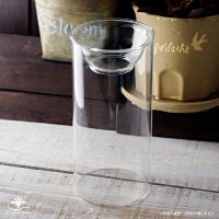球根の水栽培をおしゃれに楽しむ透明ガラスのバルブベース(水栽培用容器) 見た目におしゃれで手入れもし...