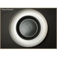 ディモーダ ブラック/プラチナ スープパスタ皿 28cm シルバー キャッシュレス 還元|hana2|02
