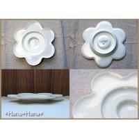 フルール コーヒーカップ&花型ソーサー ホワイト キャッシュレス 還元|hana2|03