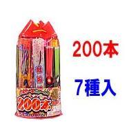 高さ:28cm  手持ち花火が200本以上!  7種類の手持ち花火が入ってます!   子ども会やPT...