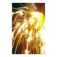 国産線香スパーク!音入り点滅火花です!着火すると炭火花とともに、金色の点滅火花がはじけ飛びます。点火...