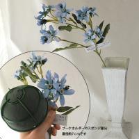 造花 MAGIQ 東京堂  トゥルリーブルースター ブルー FM002419-005 00  造花 花材「は行」 ブルースター