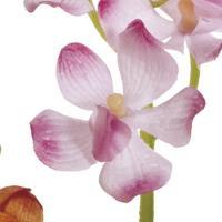 造花 MAGIQ 東京堂  ミニモカラ ピンク FM004516-002 01  12本  造花 花材「ら行」 ラン 蘭  オーキッド