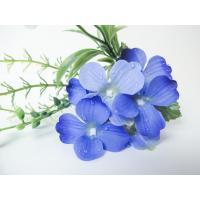 造花 YDM アメツキアジサイミックスブッシュ パープル FS8248-PU 01  造花 花材「あ行」 あじさい 紫陽花