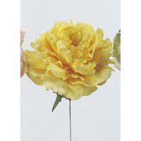即日  造花 アスカ ピオニーピック ソフトイエロー A-31454-20 00 |芍薬 牡丹  造花 花材「さ行」 シャクヤク ボタン ピオニー