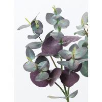 造花 アスカ ユーカリ バ−ガンディグリ−ン A-42712-015G 01   造花葉物、フェイクグリーン ユーカリ