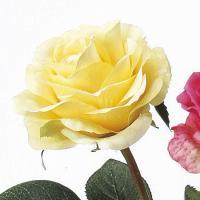 造花 アスカ ローズ イエロー A-31828-10|造花 バラ 01   造花 花材「は行」 バラ