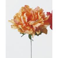 即日  造花 アスカ ピオニーピック ピーチ A-31454-4 00 |芍薬 牡丹  造花 花材「さ行」 シャクヤク ボタン ピオニー