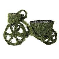 造花 アスカ 三輪車 クリームグリーン A-15392-53A 01   造花枝物 その他の造花枝物