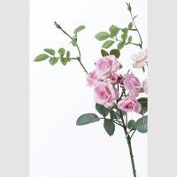 即日  造花 アスカ A-39585 ローズピックX7 #003 ピンク A-39585-003|造花 バラ 00   造花 花材「は行」 バラ