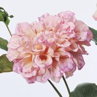 造花 アスカ ダリア×1 つぼみ×2 ピンク A-32828-003 01   造花 花材「た行」 ダリア