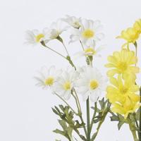 造花 アスカ デージー×11 ホワイト A-33084-001 01   造花 花材「た行」 デージー