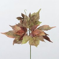 即日  造花 アスカ ボストンアイビーピック グリ−ンライトブラウン A-42715-051B 00   造花葉物、フェイクグリーン アイビー