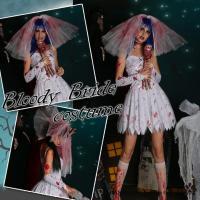 *:.。.*おすすめポイント*:.。.*  ※花嫁ドレス★美しいけど怖い・・ゾンビの花嫁。 ホラー系...