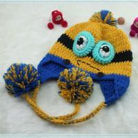ニット帽 手編み帽子 ハンドメイド  あったかい コスプレ 衣装