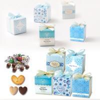 ホワイトデーのお返しに お菓子のプチギフト「サムシングブルーグルメCC(チョコ&クッキー&パイ)」会社 大量 業務用 職場 結婚式 販促 安い HZW-HBG03