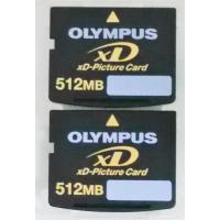 xd:新品Olympus XDピクチャー512MB二枚セット(メール便送料160円):バルク新品、X...