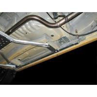 ●D-SPORTコペン用サイドシル補強バーは、フロア下部両サイドを効果的に補強しボディ剛性を向上させ...