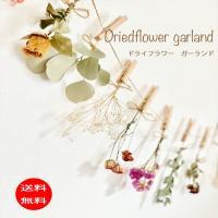 ドライフラワーガーランド7種類花材イラストカード付き