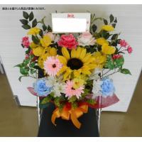 送料無料 お祝い 造花 アレンジメント 8000円 開店祝い、イベント、発表会、講演会、演台、ギフト、ビジネス