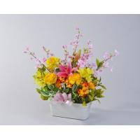送料無料 お祝い 造花 プランターアレンジメント 9000円