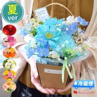 バラと季節の花 おまかせ生花アレンジ Sサイズ 花 フラワー ギフト 誕生日 プレゼント 女性 母 お祝い 退職祝い 結婚祝い フラワーアレンジメント バラ