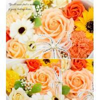 スクエアボックス ソープフラワー<Lサイズ> ギフト 誕生日 プレゼント 女性 女友達 妻 彼女 退職祝い 花 結婚祝い フラワーボックス 石けん  あすつく対応