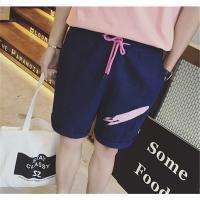 メンズ ハーフパンツ デニム ファッション カジュアル プリント 着心地よい ライトウォッシュ ショートパンツ 夏服