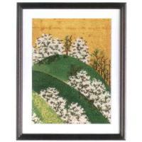 日本の名画の刺繍キットです。和室などに飾るといいですね。[キット内容]刺繍糸(綿100%)・オリムパ...