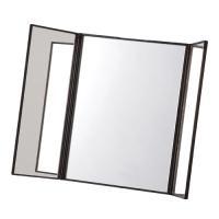 カラー:ブラック 本体サイズ(約):12×1.3×15.5cm 素材:PS樹脂、ガラス 原産国:日本