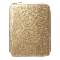 カラー:ゴールド 本体サイズ(約):縦200×横158×厚15mm 素材:合皮