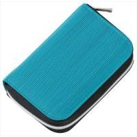 カラー:ブルー 本体サイズ(約):幅80×奥20×高110mm 重量(約):79g 素材:[表地]ポ...