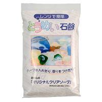 サイズ(約):[パッケージ]幅13×奥2.5×高21cm 容量(約):200g セット内容:透明石鹸...