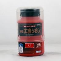 カラー:朱色<BR> 本体サイズ(約):高11×径5.5cm 容量(約):200ml