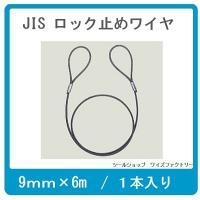 【用途】 玉掛け作業  【仕様】 ■JIS規格ワイヤーロープ使用 ■サイズ:ワイヤー径9mm×長さ6...
