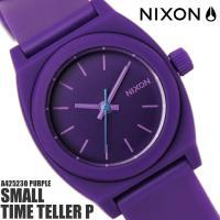 ニクソン スモールタイムテラーP A425230 NIXON 腕時計 レディース タイムテラー ブラ...