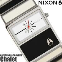 ニクソン THE Chalet A575005 NIXON 腕時計 レディース シャレー ブラック ...