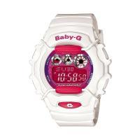 Baby-G 腕時計 レディース  カシオ CASIO ベビージー デジタル ホワイト  白 ピンク...