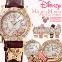 腕時計 ディズニー Disney ミニーマウス レディース ミニー ウォッチ 時計 チャーム Min...